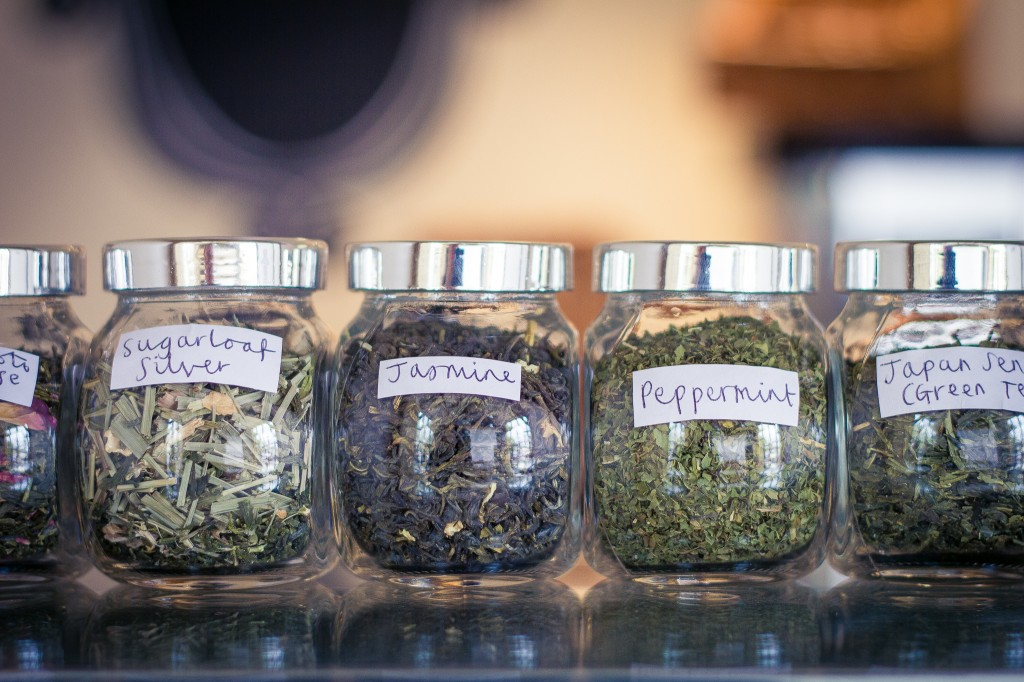 Selection of teas